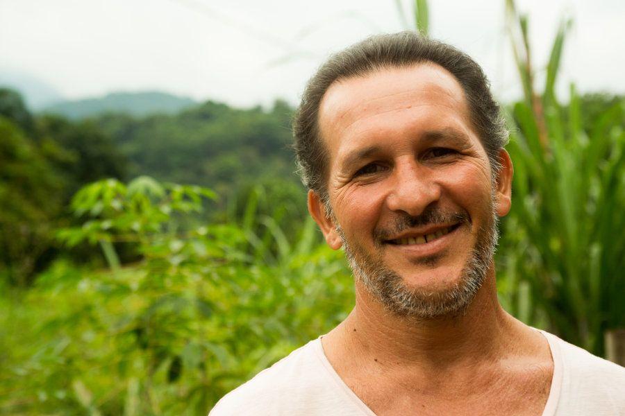 Adilei Carvalho da Cunha era caçador e se tornou guia turístico da