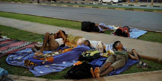 Dados do IBGE mostram que nos 6 primeiros meses deste ano mais de 10 mil venezuelanos cruzaram a