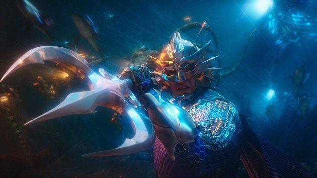O visual kitsch do mundo submarino de