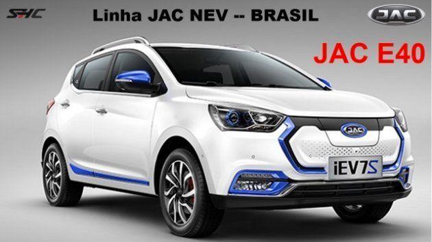 JAC E40 será o elétrico mais barato do Brasil e custará R$