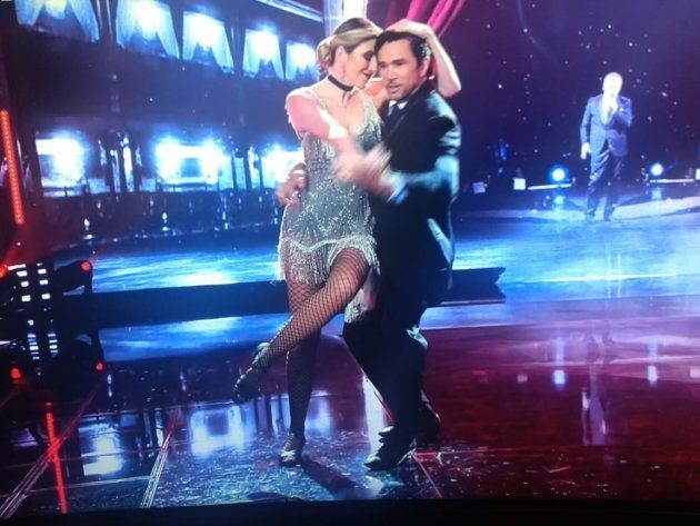 Dani Calabresa dança tango na final da Dança dos