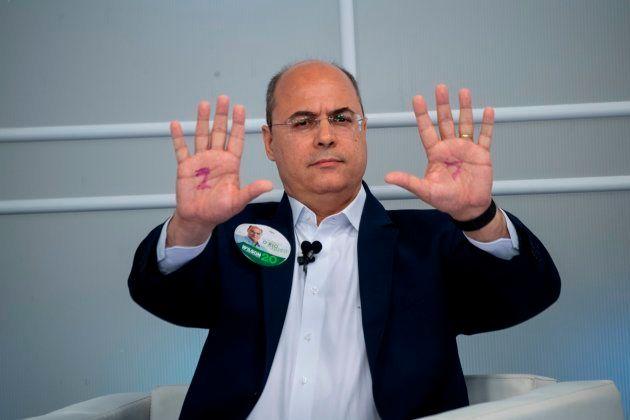 O governador eleito do Rio, Wilson