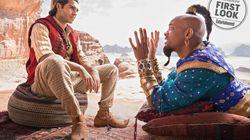 As primeiras imagens do novo 'Aladdin' mostram Will Smith e sua versão 'hip-hop' do