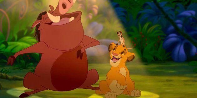 Cena de 'O Rei Leão', animação premiada da Disney lançada em
