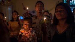 A vigília de Natal que confortou os sobreviventes do tsunami na