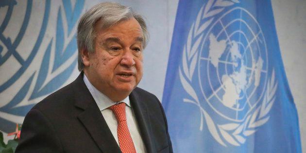 Em mensagem de final de ano, o secretário-geral da ONU defende