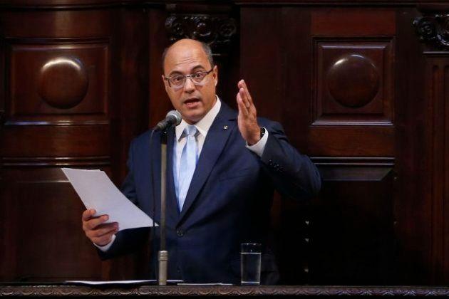 O governador Wilson Witzel toma posse na Assembleia Legislativa do Estado do Rio de Janeiro (Alerj)
