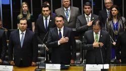 Na posse, Bolsonaro reafirma promessa de defender valores religiosos e