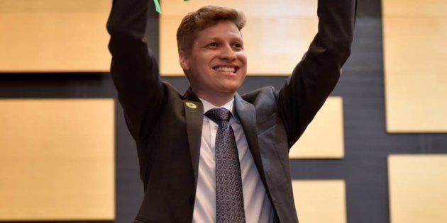 Marcel Van Hattem (Novo-RS), líder do Novo, promete uma postura independente em relação ao governo de...