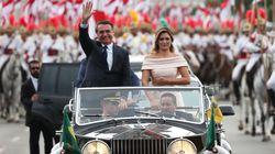 Bolsonaro opta por carro aberto para desfile na