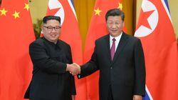 북한 김정은이 중국을 전격 방문했다. 네 번째