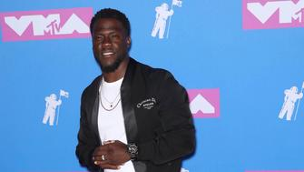 Photo by: Rothschild Media/STAR MAX/IPx 2018 8/20/18 Kevin Hart at the 2018 MTV Video Music Awards at Radio City Music Hall in New York City.