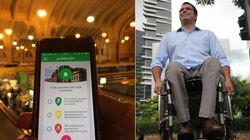Ele ganhou prêmio da ONU por criar app que avalia acessibilidade no Brasil e no