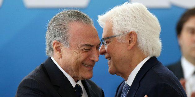 Posse de Moreira Franco como ministro da Secretaria-Geral da