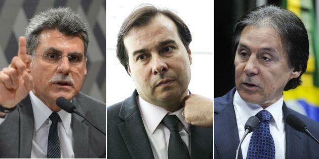 PEC apresentada por Jucá pode blindar presidente da Câmara e do
