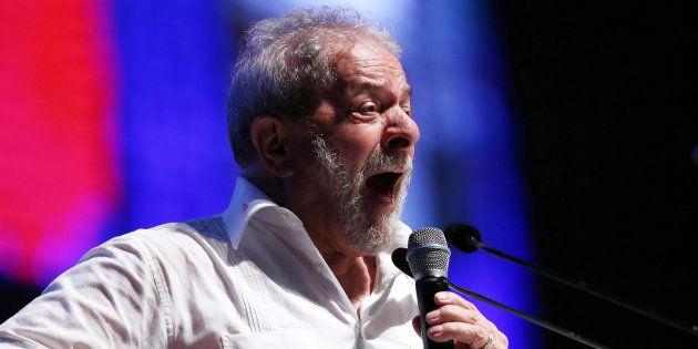 Ex-presidente Lula em congresso em
