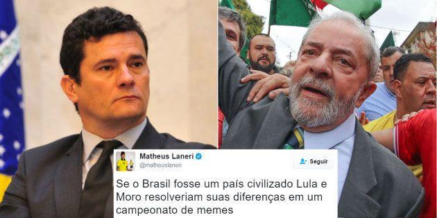 Depoimento do ex-presidente Lula ao juiz Sérgio Moro provoca clima de disputa nas redes