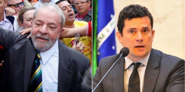 Ex-presidente Lula presta depoimento a juiz Sérgio