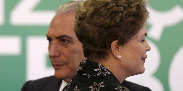Michel Temer assumiu em 12 de maio de 2016 Palácio do Planalto após afastamento de Dilma