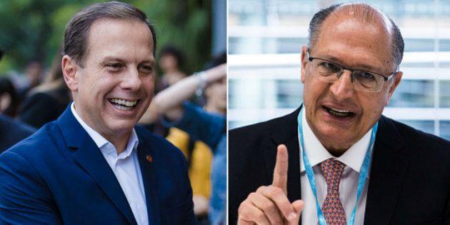 Disputa entre os tucanos João Doria, prefeito de São Paulo, e Geraldo Alckmin, para candidato a presidente...