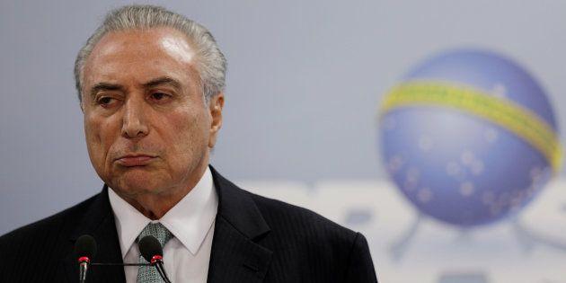 Presidente Michel Temer diz que não renuncia ao