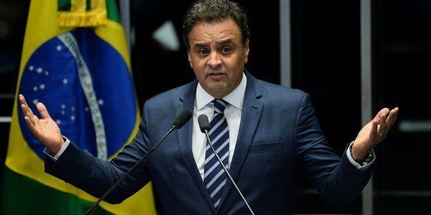 Senador afastado Aécio Neves (PSDB-MG) é denunciado por corrupção passiva e obstrução da