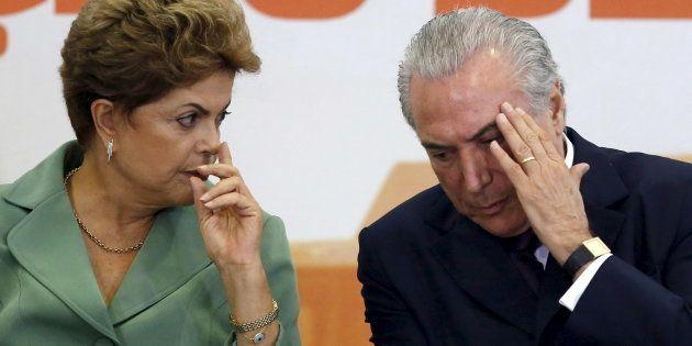 Tribunal Superior Eleitoral (TSE) absolveu chapa que elegeu Dilma Rousseff e Michel Temer de acusação...