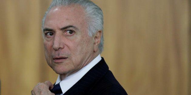 Presidente Michel Temer rebate denúncia por corrupção passiva feita pela Procuradoria-Geral da