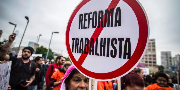 Greve Geral do Brasil contra as reformas trabalhista e da