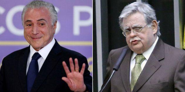 Advogado do presidente Michel Temer, Mariz de Oliveira, diz que Câmara dos Deputados aceitar denúncia...