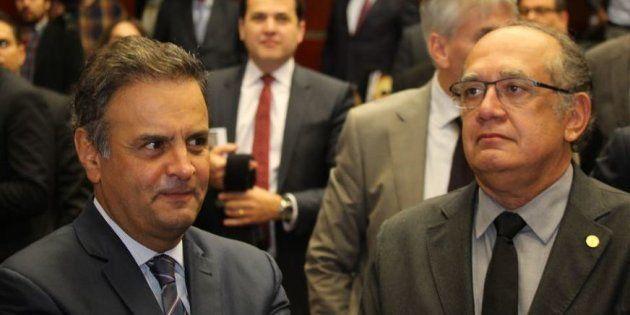 Presidente do Supremo Tribunal Federal (STF), Cármen Lúcia, negou um pedido para contra senador Aécio...