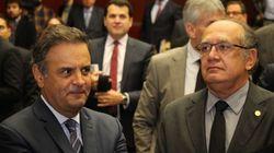 Gilmar Mendes não será relator de ação contra Aécio, decide Cármen