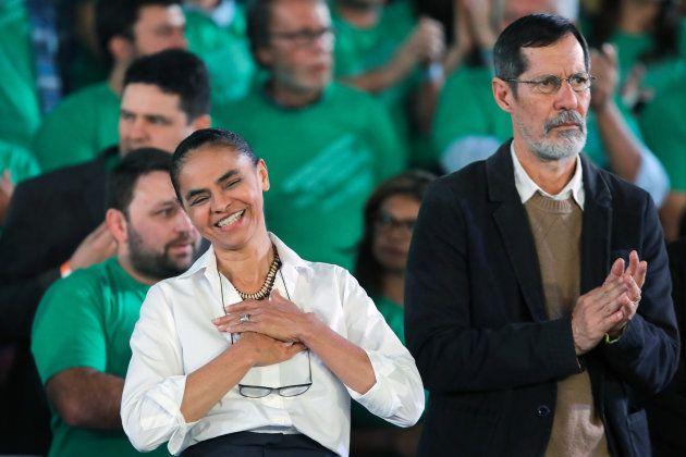 Marina e Eduardo Jorge formam chapa presidencial