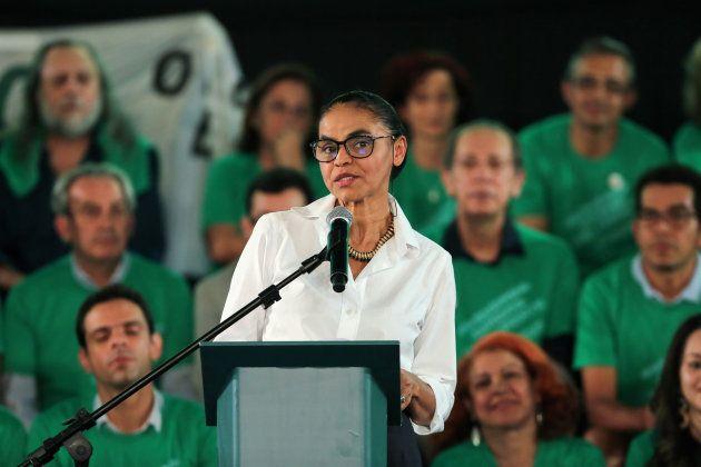 Marina é crítica do presidencialismo de coalizão e do Centrão, que apoia