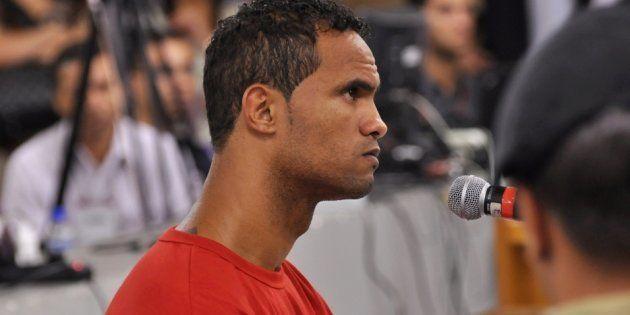 Goleiro Bruno, condenado pela morte da