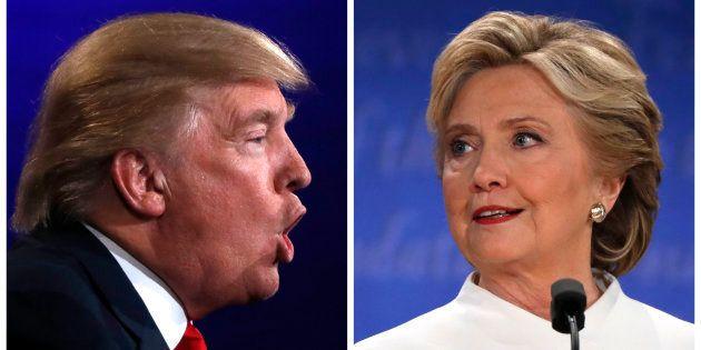 Debate na campanha presidencial dos Estados Unidos entre Donald Trump e Hillary