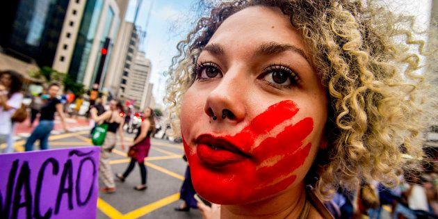 Marcha em São Paulo no Dia Internacional da