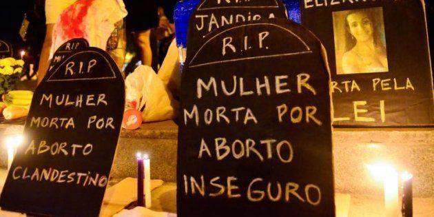 Manifestação, no Rio de Janeiro, a favor da descriminalização do