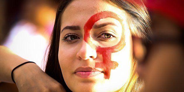 Protesto em Campinas (SP) após chacina de mulheres no Ano