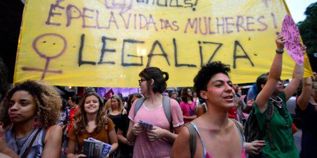 Manifestação em dezembro em São Paulo pela descriminalização do