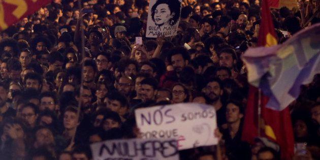 Morte da vereadora Marielle Franco (PSol) mobilizou milhares de pessoas em protestos em mais de 20 estados