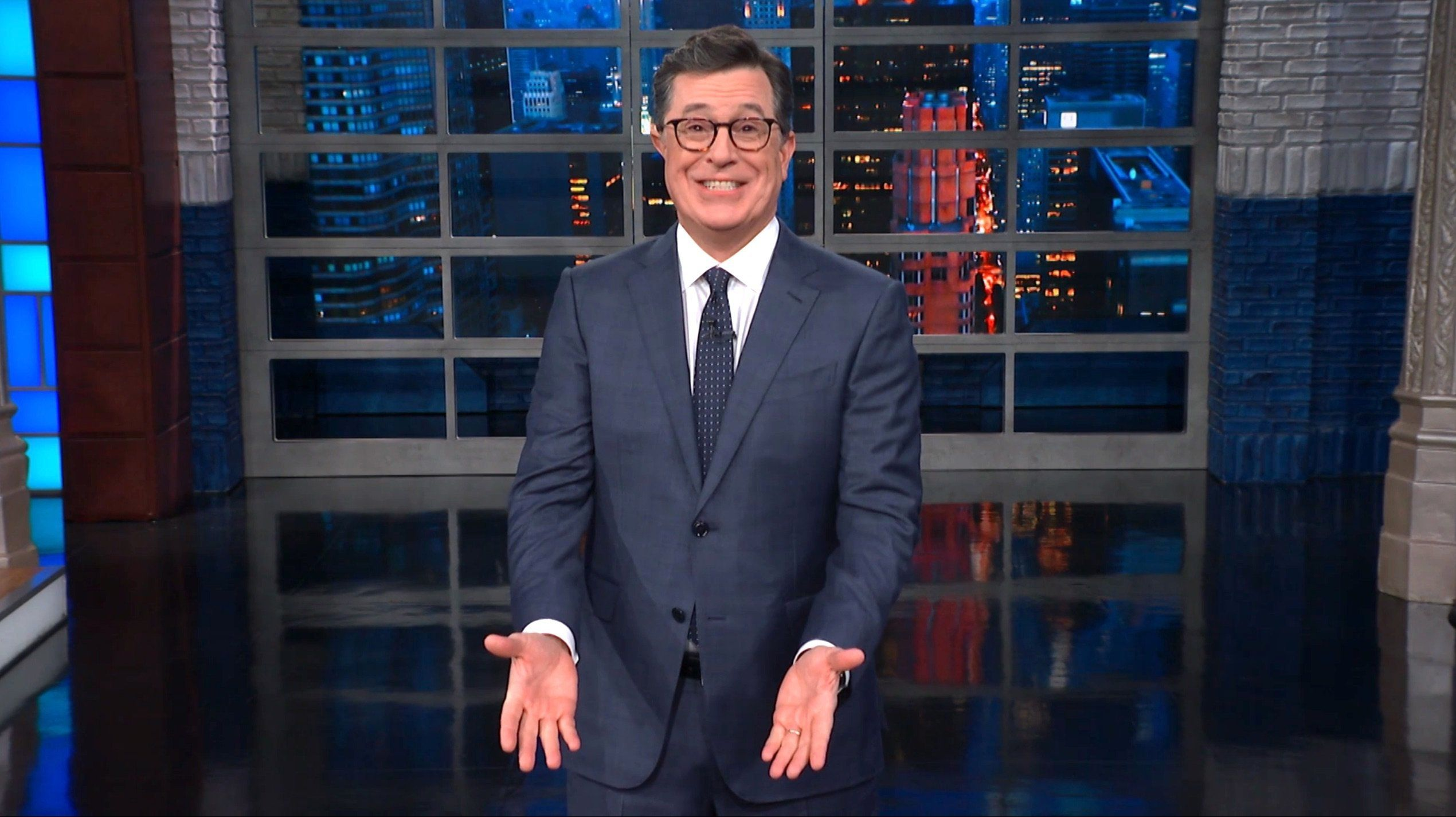 Colbert Trolls Trump With An Absolutely Hilarious New Border Wall