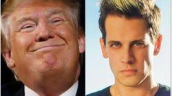 Trump ameaça universidade após ato contra jornalista gay de