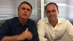 Bolsonaro justifica falta do filho: Estava comprando 'besteira' na