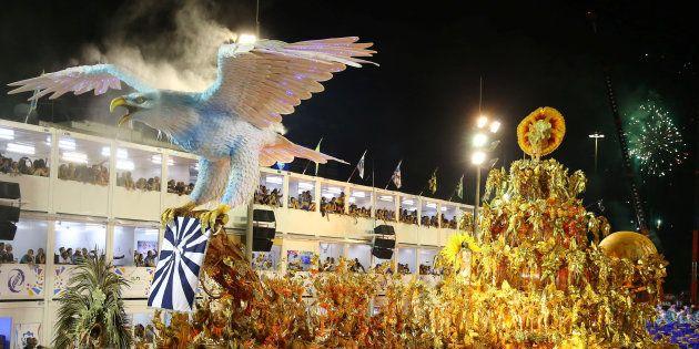 Desfile da Portela no carnaval de