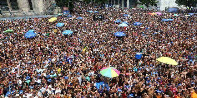 Bloco das Poderosas no Carnaval do Rio de