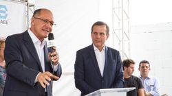 Doria rebate boatos: 'Alckmin é meu candidato em