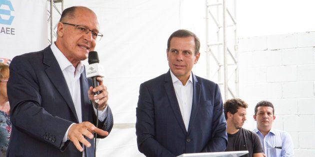 João Doria afirma que vai apoiar Geraldo Alckimin à presidência em