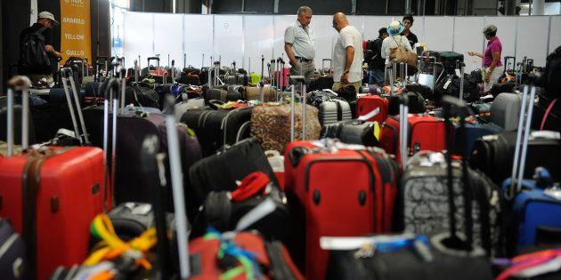 Pela proposta da Anac, empresas não serão mais obrigadas a oferecer franquia de bagagem (hoje de 23 quilos)em...