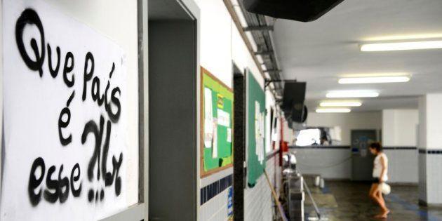 Escola Mendes de Moraes, na Ilha do Governador
